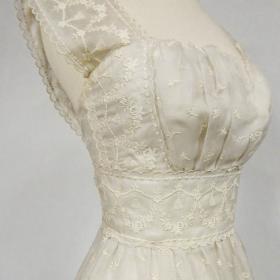 45fed82d Lanvin Castillo Haute Couture Evening Dress Estate of Baroness Alain de  Rothschild Circa 1957